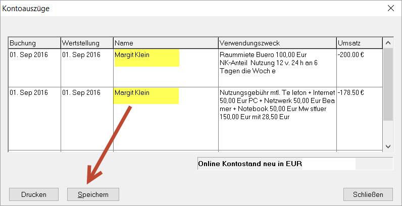 Lexware Buchhalter ONLINE-BANKING: Bankkontoauszüge abholen und ...