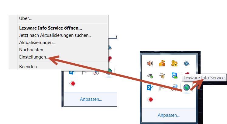 Lexware Internet Aktualisierungs-Assistent LISA in Sicherheitssoftware freischalten