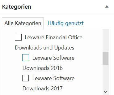 Lexware Download Update 2016 oder 2017 als ESD Version
