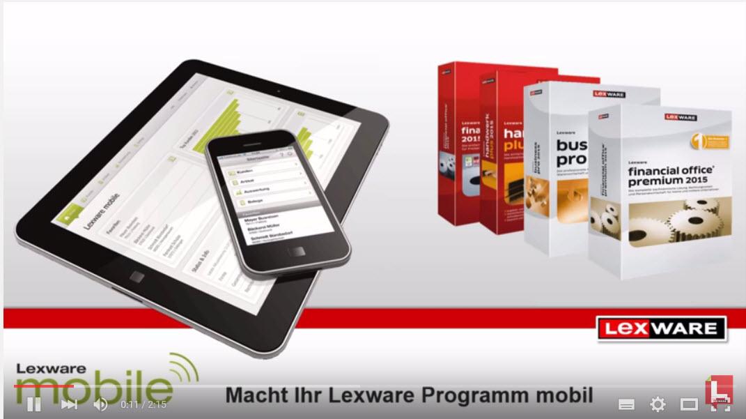 Lern-Ware mobile Auftragserfassung mit Lexware® Software