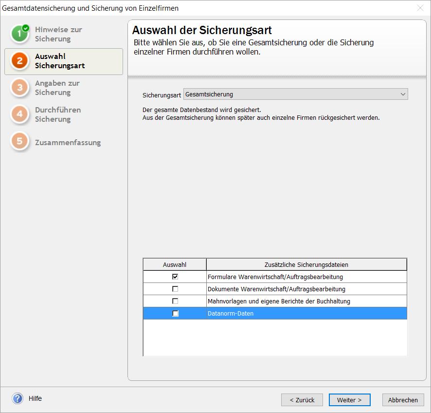 Lexware Pro und Premium Versionen: Meldung \'Es wird eine ...