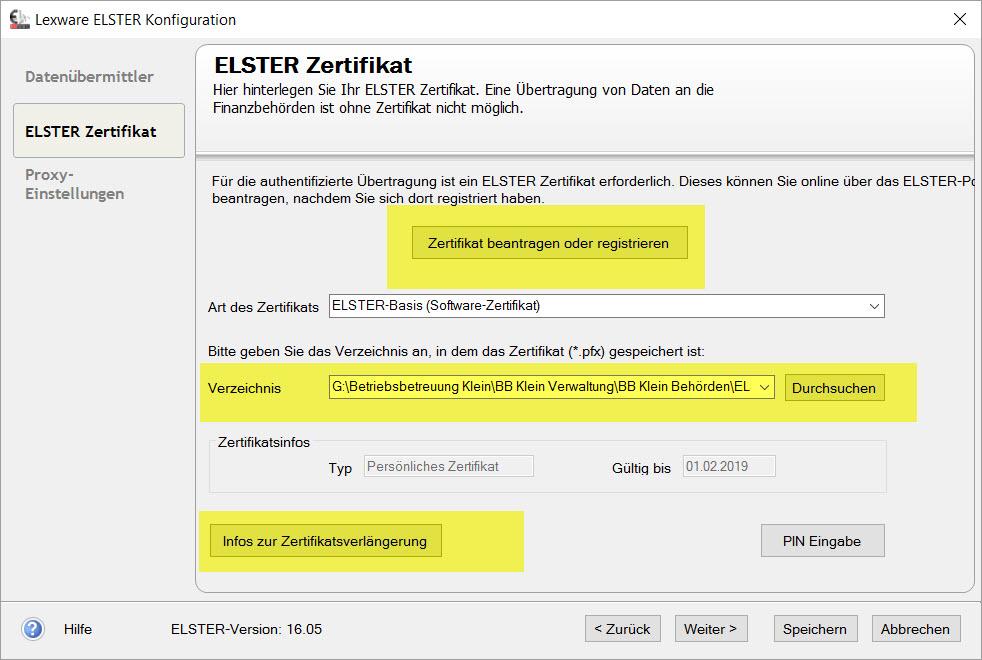 Lexware Buchhalter Elster Umsatzsteuer Voranmeldung Im