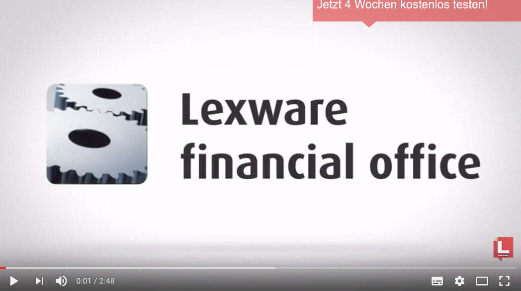 Lexware Financial Office Produktvorstellung