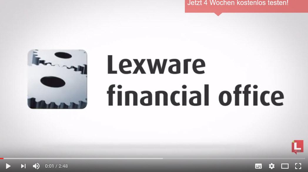 Lexware Financial Office Produktvorstellung