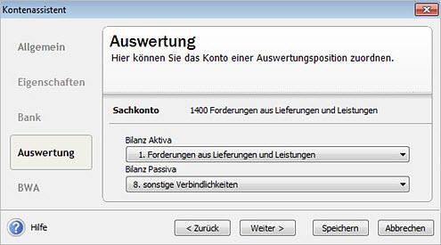 Lexware Jahresabschluss Buchhalter ab Version 2016: Sammelkonten ...