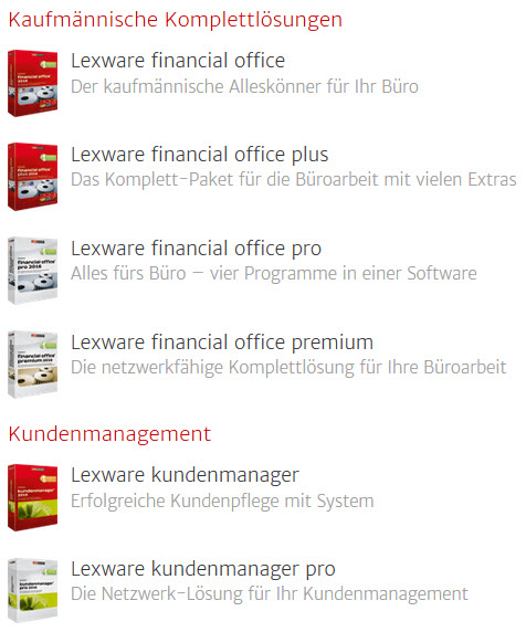 Lern-Ware Lexware Hotlinenummer