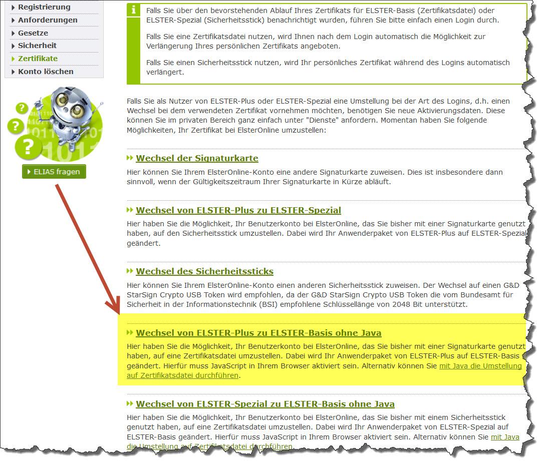 Lexware Buchhalter und Lexware Lohn: Signaturkarten mit Elster ...