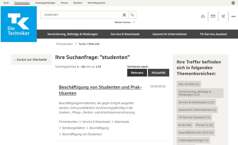 Lexware Lohn: Beschäftigung von Studenten und Praktikanten bis 2016 ...