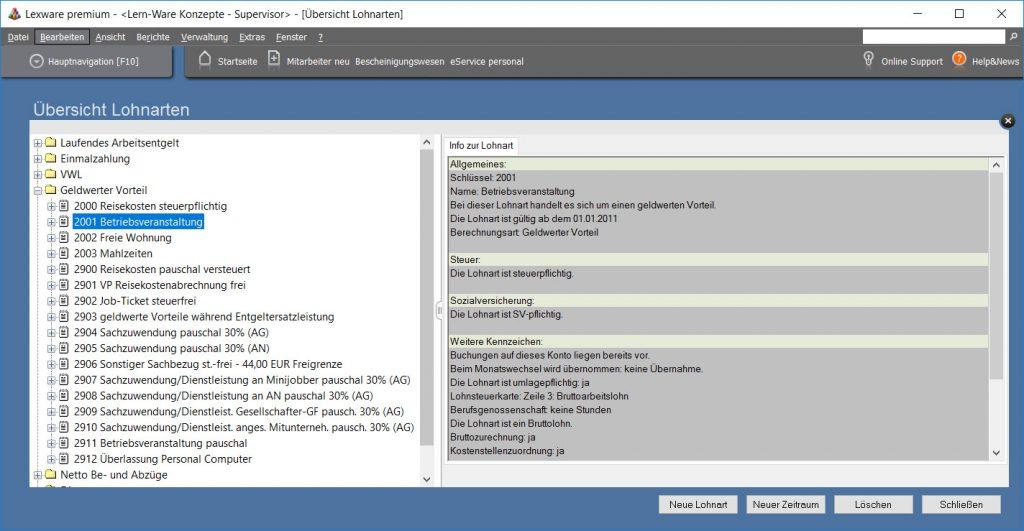 Lexware-lohnart-betriebsveranstaltung-individuell-besteuert-sozialabgabenpflichtig