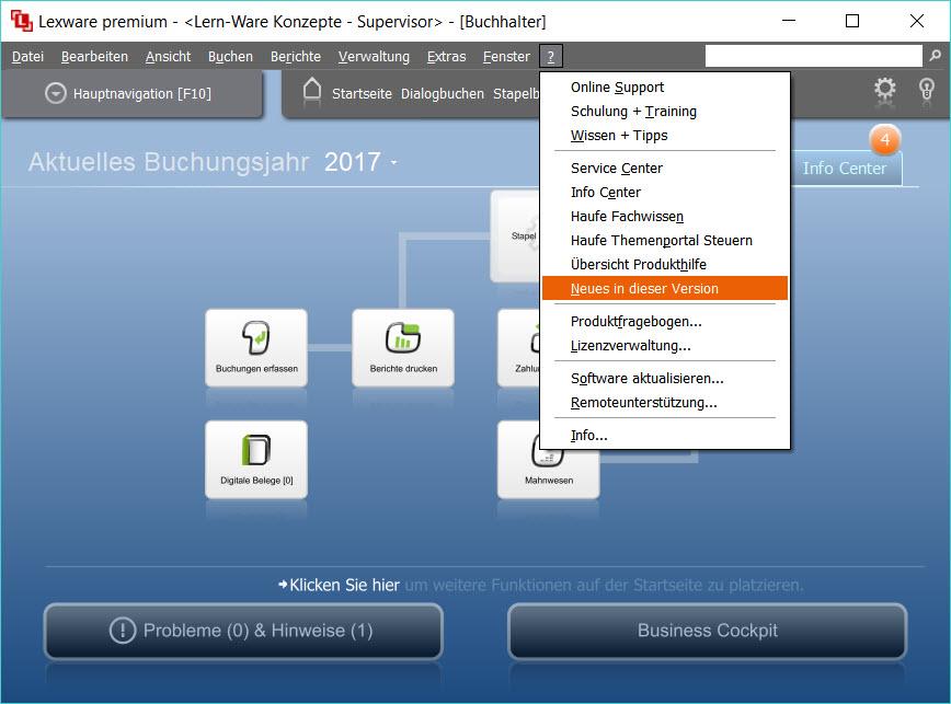 """Lexware® Software """"neues in dieser Version"""""""
