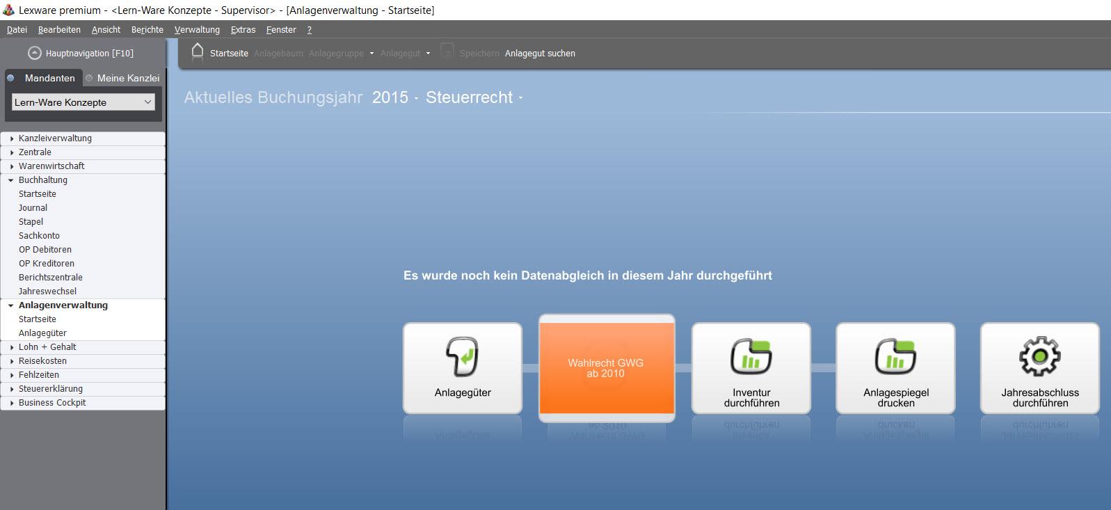 lexware steuer 2010