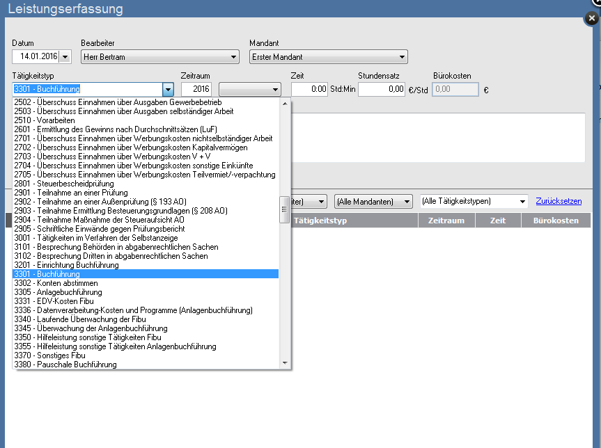 lexware-steuerkanzlei-bueroservice-komplett-leistungserfassung-taetigkeitstyp