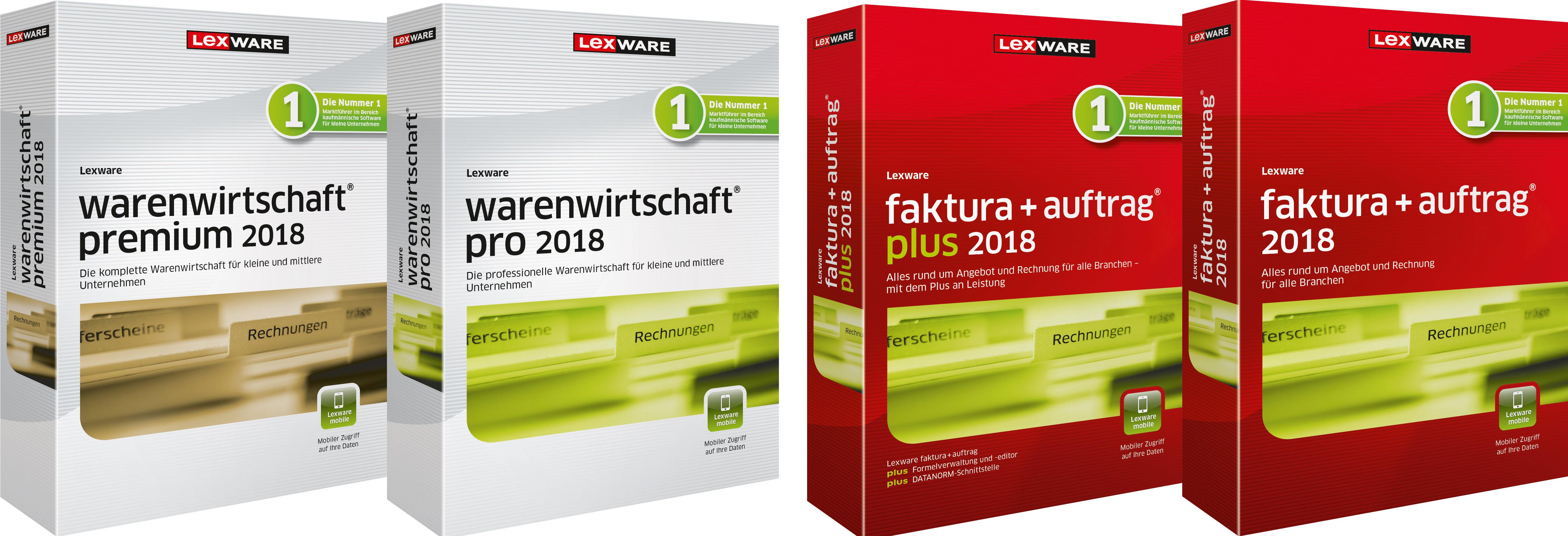 Lexware Faktura Auftrag Warenwirtschaft Pro Und Premium 2018