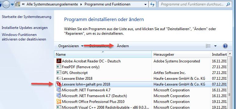 Lexware Technik: Software startet nach Windows Update nicht