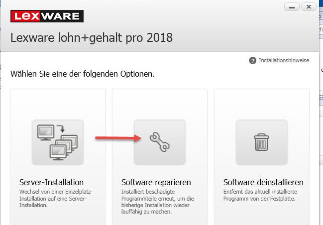 Repararturinstallation © Haufe Lexware GmbH & Co. KG 95026