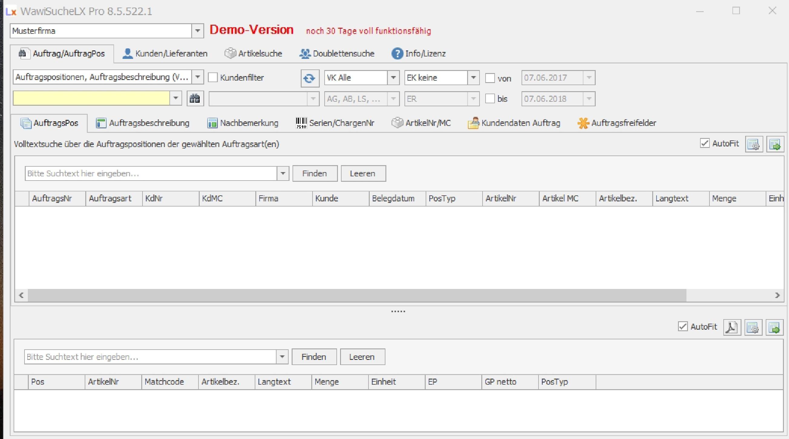 Lexware Warenwirtschaft Zusatz Tools Warenwirtschaft Durchsuchen