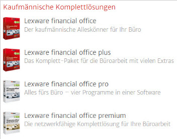 Lern-Ware Financial Office Familie Support