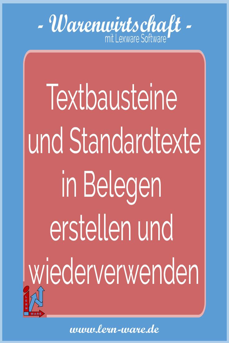 Lexware Faktura Auftrag Sowie Warenwirtschaft Textbausteine Und